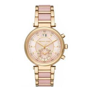 2fd6408d9e0d Michael Kors. Michael Kors Sawyer Pink & Gold Glitz Womens Watch. Boutique